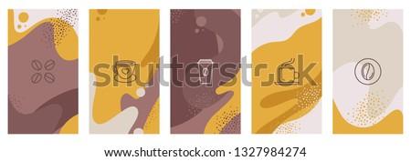 Café negócio abstrato chocolate restaurante beber Foto stock © shawlinmohd
