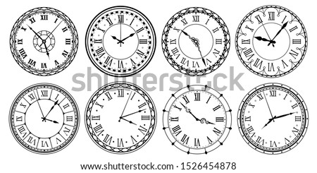 Classico guardare illustrazione bianco esecuzione tempo Foto d'archivio © get4net