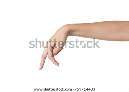 walking fingers concept stock photo © ra2studio