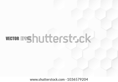 White Hexagon Structure Stock photo © limbi007