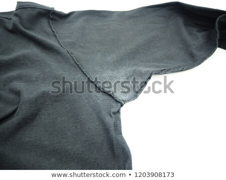 Yellow Stain Under Armpit On White T-shirt Stock photo © AndreyPopov
