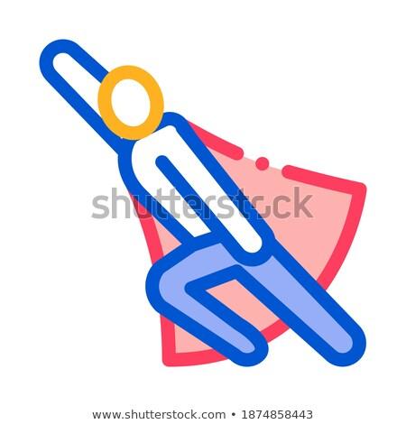 Prontidão ícone vetor ilustração Foto stock © pikepicture