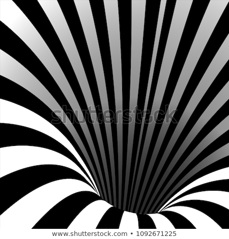 Spin, motion and optical illusion. Vector illustration of impossible shapes.  Stock photo © ukasz_hampel