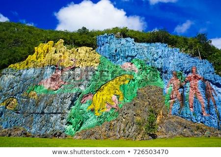 долины Рио Куба популярный туристических Сток-фото © Arsgera
