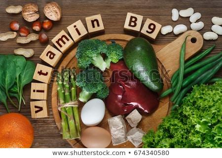 Natuurlijke vitamine gezonde producten voedsel groep Stockfoto © furmanphoto
