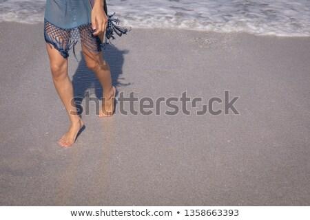 Basso sezione piedi spiaggia sole Foto d'archivio © wavebreak_media