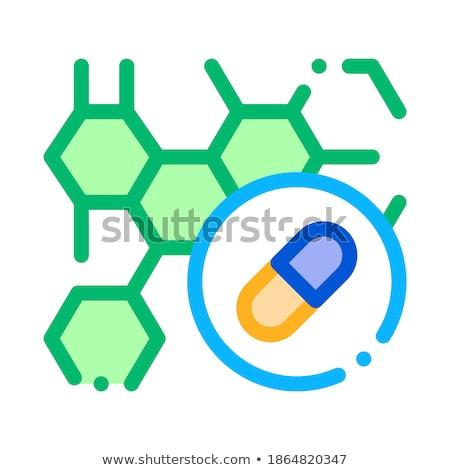 Efeito drogas corpo ícone vetor Foto stock © pikepicture