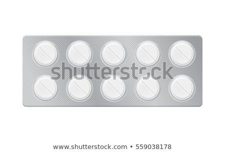 Pilules Pack traitement vitamine dose vecteur Photo stock © robuart