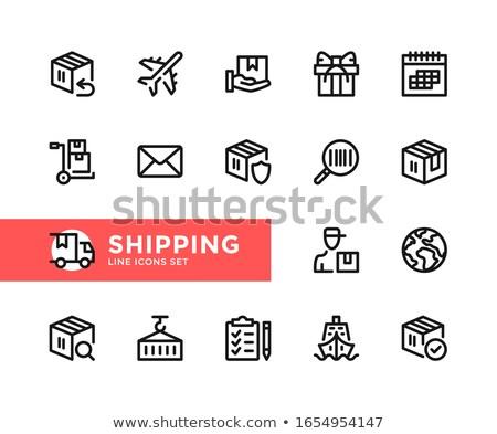 Internationale bedrijfsleven symbool vector business China Stockfoto © robuart