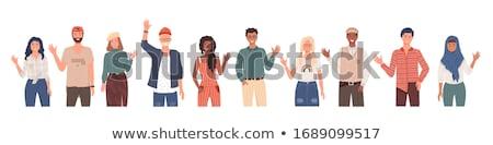 Différent main personnes pays Photo stock © robuart
