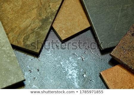 Decorativo azulejos colorido pedra Foto stock © Illia