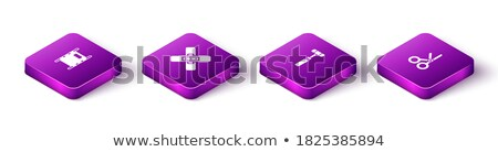 Neurology Medicine Isometric Icons Set Vector Stock photo © pikepicture