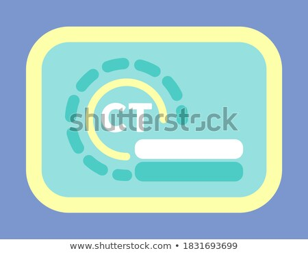 Mri computer scanner gezondheidszorg vector Stockfoto © robuart