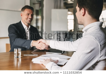 Recruit Manager Handshake At Job Interview  Stock photo © AndreyPopov