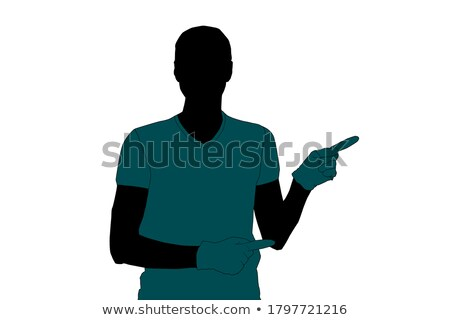 Portrait of black man wearing respiratory medical mask at white background, stop spreading virus Stock photo © robuart