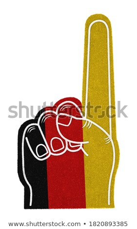 German foam finger Stock photo © goir