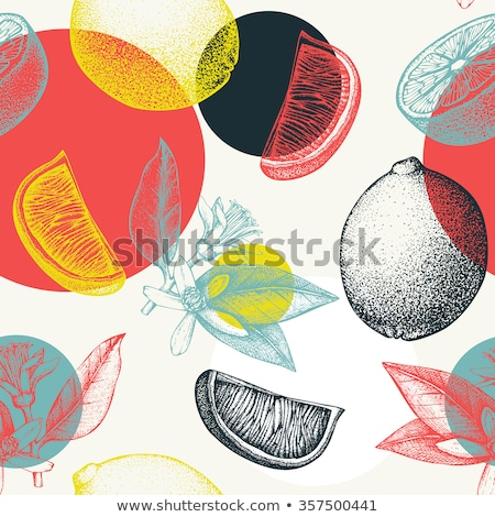 Creative cocktail pattern stock photo © pressmaster