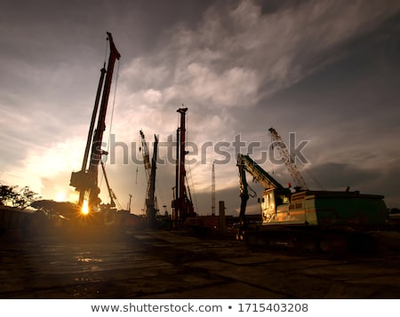 Construction industry and cran.  Stock photo © deyangeorgiev