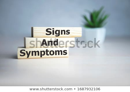 H1n1 signo rojo cerdo gripe negro Foto stock © hlehnerer