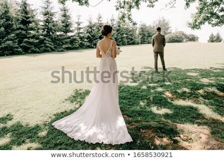 жених · ждет · невеста · красивой · свадьба · пару - Сток-фото © hasenonkel