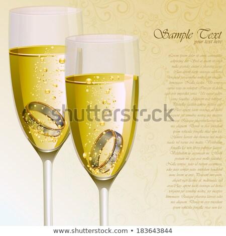 Toast for engagement  stock photo © pressmaster