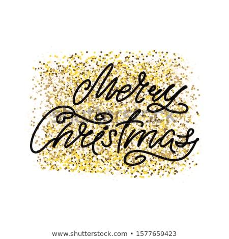 веселый · Рождества · Vintage · элегантный · карт · прибыль · на · акцию - Сток-фото © beholdereye