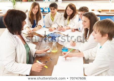 科学 · 学生 · ラボ · 大学 · 学校 · 医療 - ストックフォト © photography33