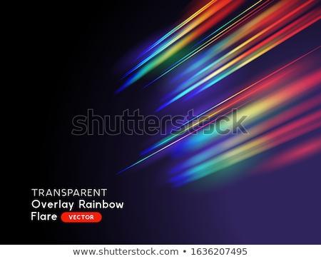 Rainbow Light Stockfoto © solarseven