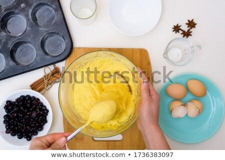 La preparación de alimentos collage alimentos vino cocina hombres Foto stock © photography33