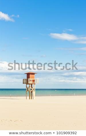 Frankrijk · zee · zomer · reizen · wolk · vakantie - stockfoto © phbcz