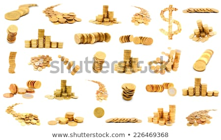 Euro golden coins Stock photo © baur