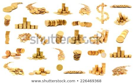 euro · borç · renkli · 3D · render · örnek - stok fotoğraf © baur
