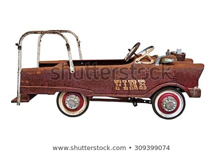 Vintage modèle jouet route urbaine Photo stock © urbanangel
