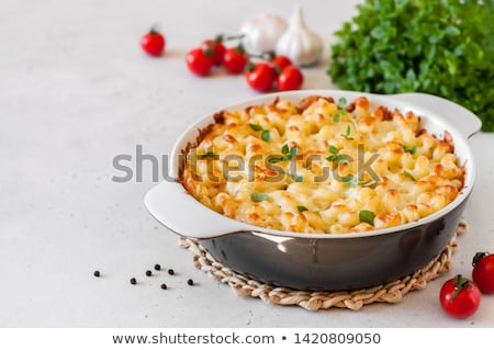 pasta gratin Stock photo © M-studio