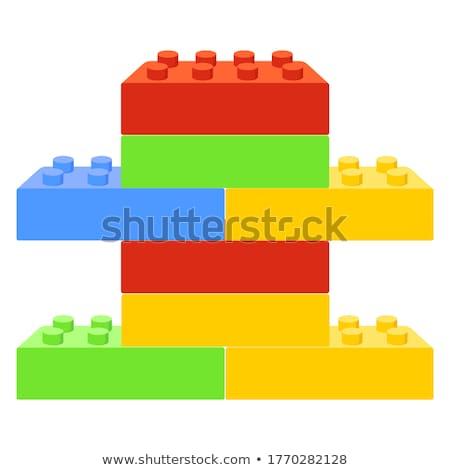 plastic toy blocks Stock photo © AnatolyM