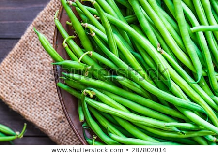 Fresh Green Beans Stock photo © klsbear