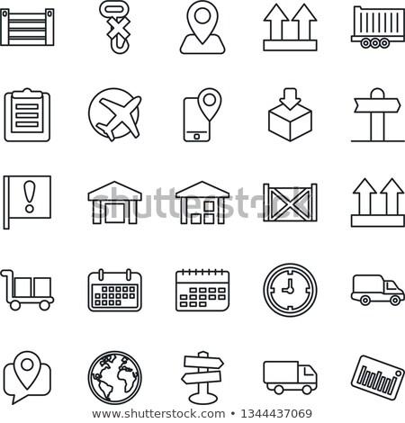 Agenda planing Stock photo © grafvision