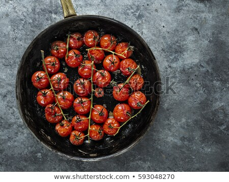 Roasted Cherry Tomatoes Stockfoto © zkruger