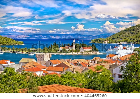Vis Town, Croatia Stock photo © Suljo