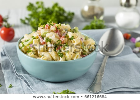 pasta with vegetables background Stock photo © ozaiachin