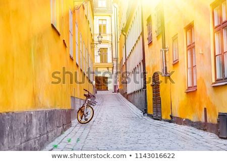Stockholm Suède vue sur la rue affaires bâtiment été Photo stock © rey316