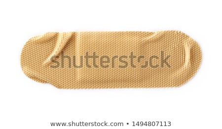 Top view of band-aid on a white background Stock photo © wavebreak_media