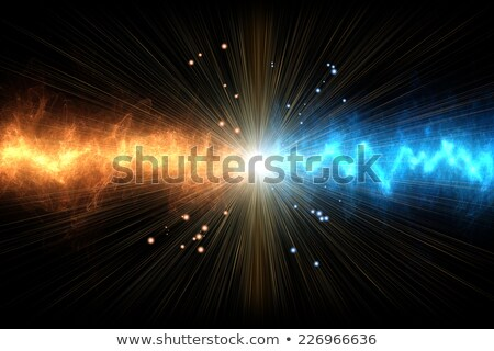 abstract colorful smoke on black background 2 stock photo © grasycho
