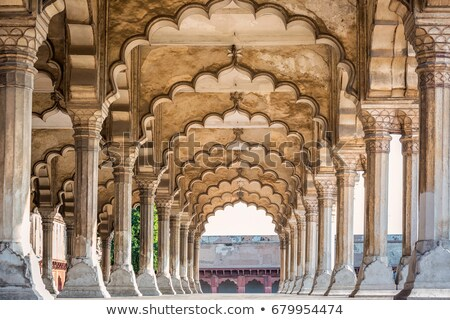 колонн дворец форт Индия дизайна путешествия Сток-фото © Mikko