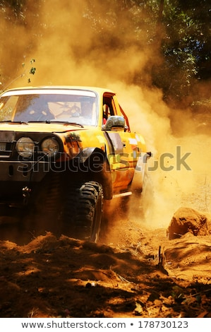 Red Rally Jeep Foto stock © xuanhuongho