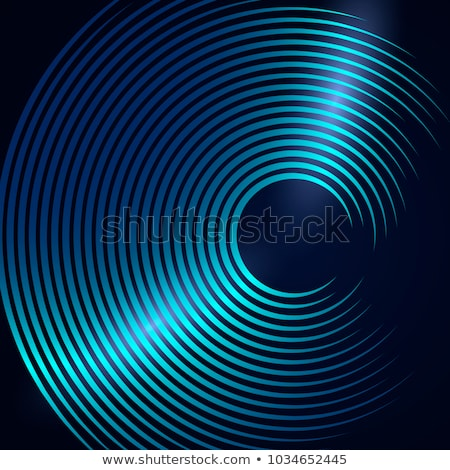 Music Background with a Glow vinyl plate Stock photo © maxmitzu