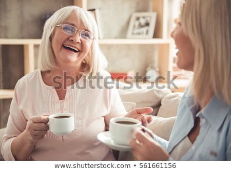 Grandmother with adult daughter and grandchild Stock photo © dacasdo