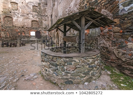 Old Well in Courtyard Stock photo © jkraft5