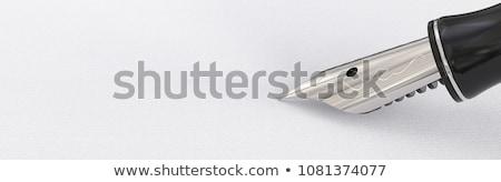 ilustração · nosso · caneta · abstrato · fundo - foto stock © kolobsek
