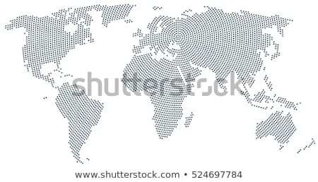 world map dot pattern stock photo © cteconsulting
